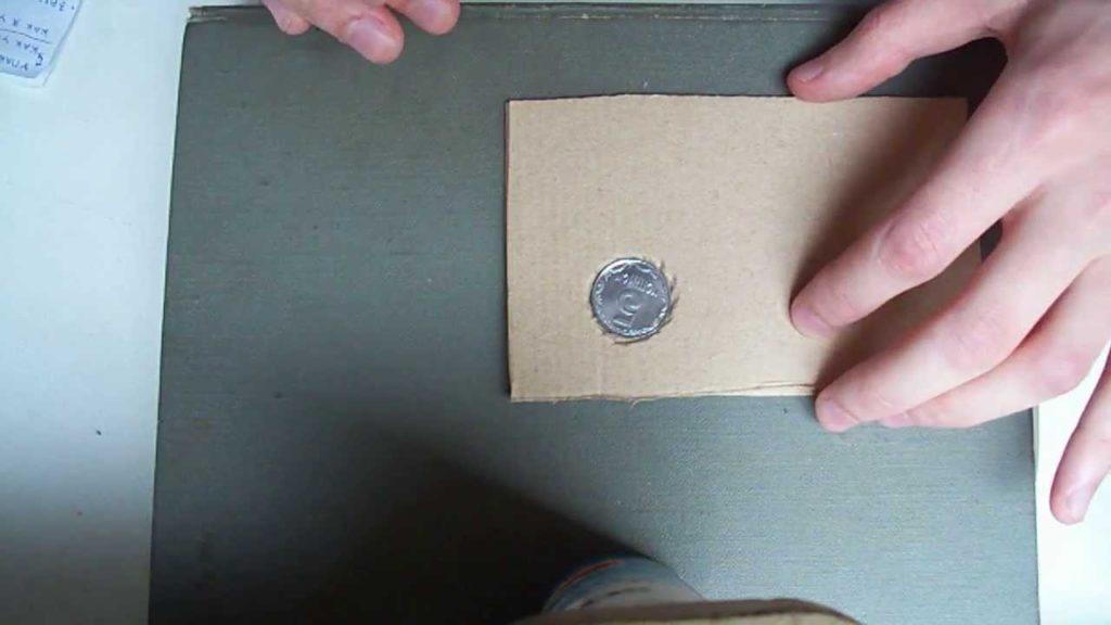 Обрисовка монеты