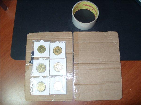 Упаковка монет